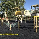 Brand New Childrens Play Park Development